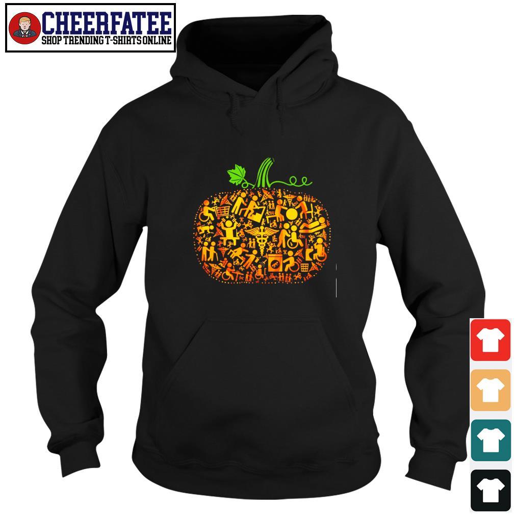 Occupational therapy pumpkin halloween s hoodie