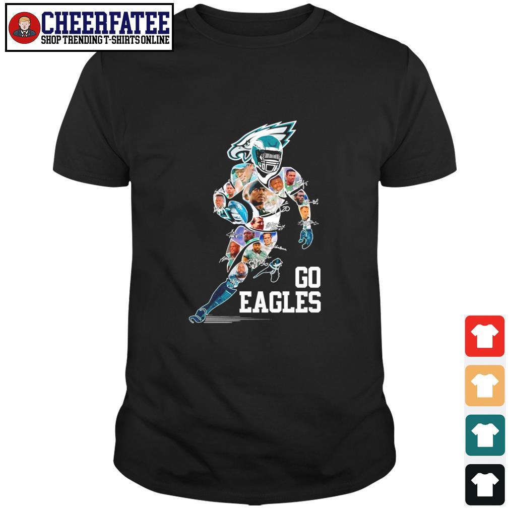 Philadelphia eagles go eagles signature shirt