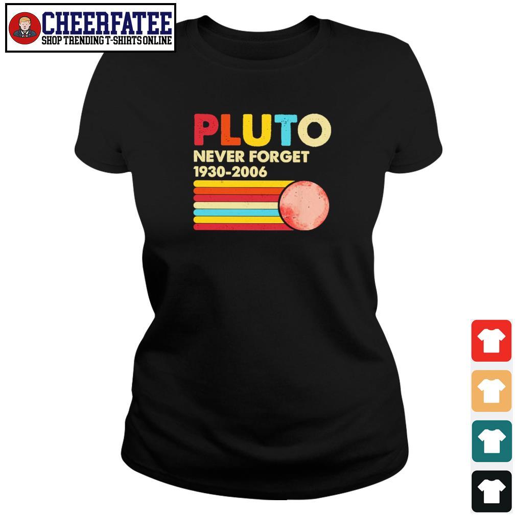 Pluto never forget 1930 2006 s ladies-tee