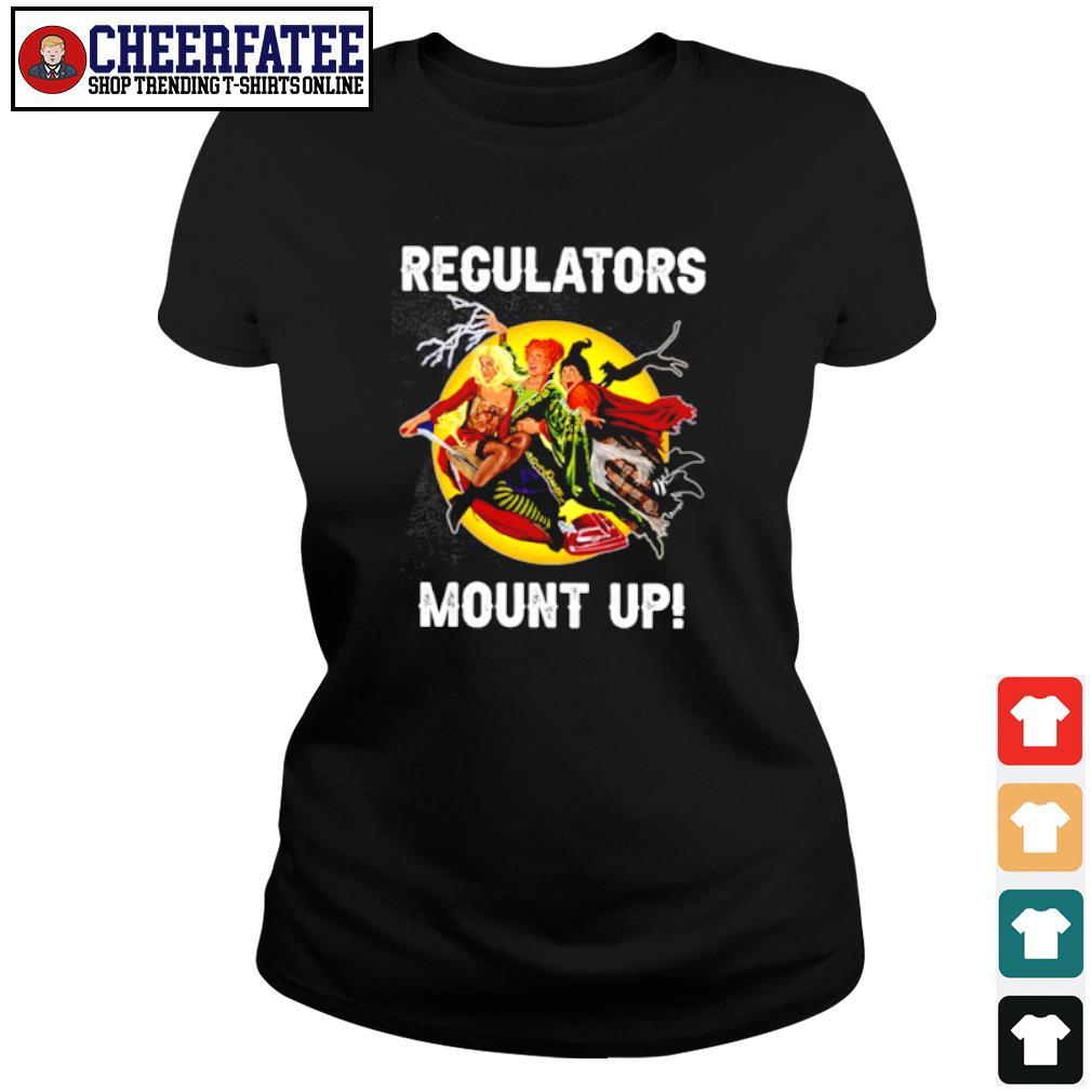 Regulators mount up s ladies-tee