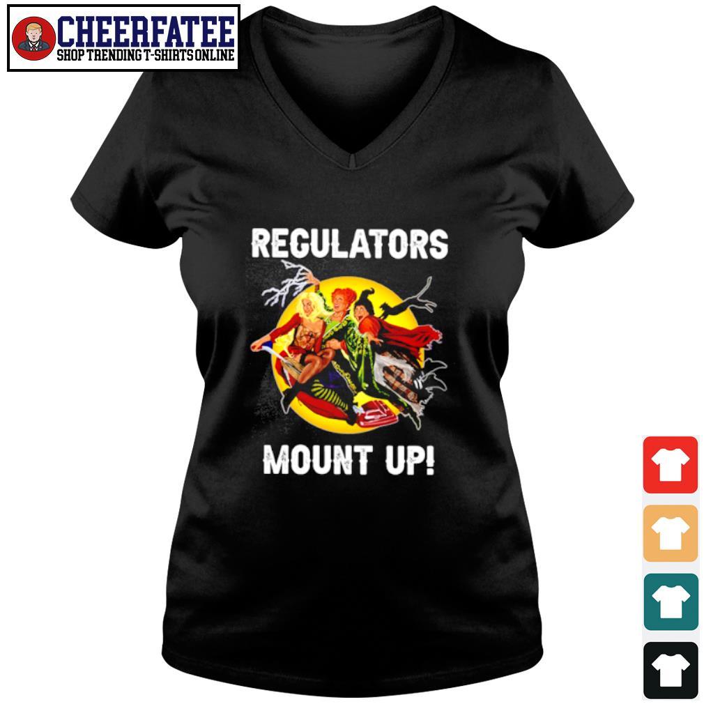 Regulators mount up s v-neck t-shirt