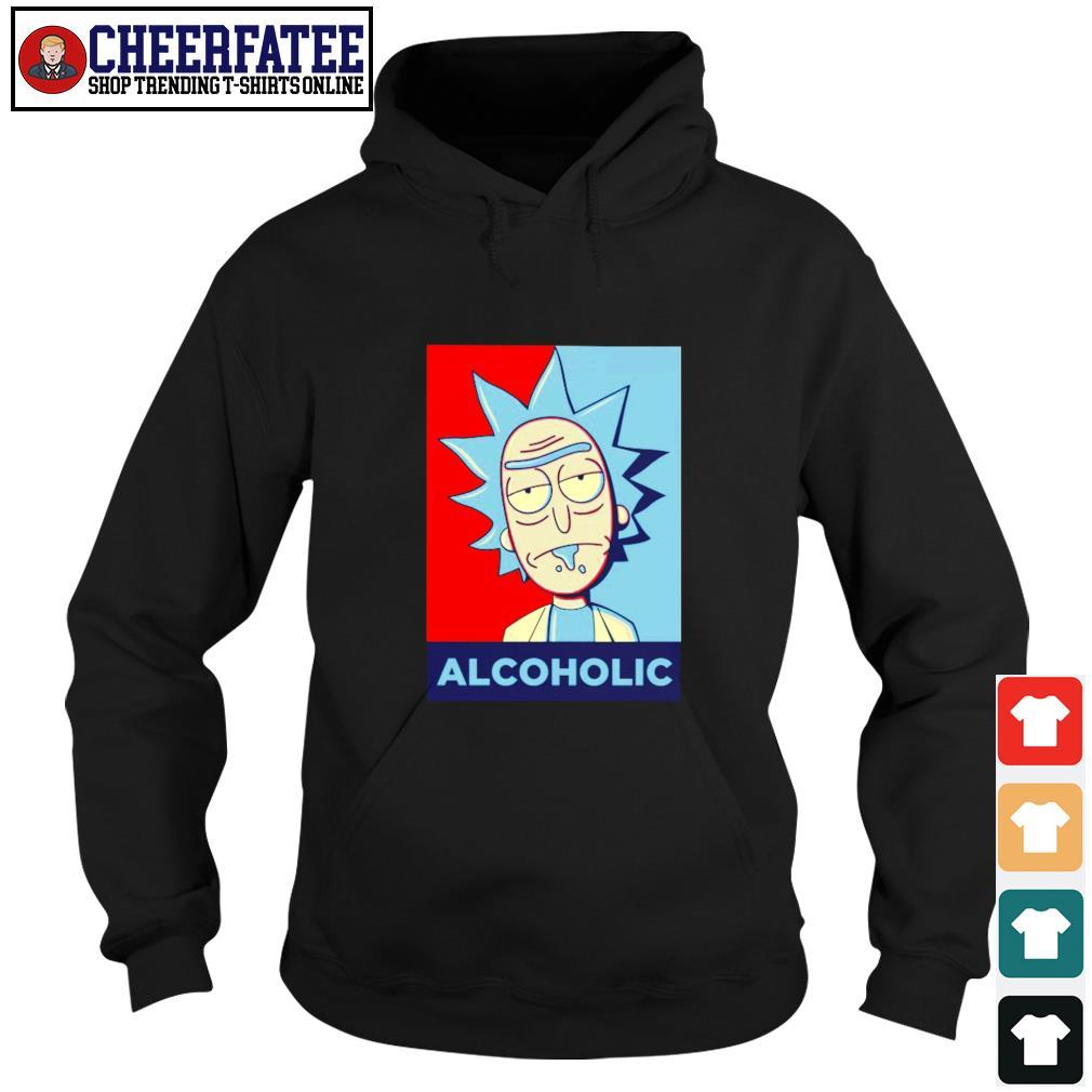 Rick sanchez alcoholic s hoodie