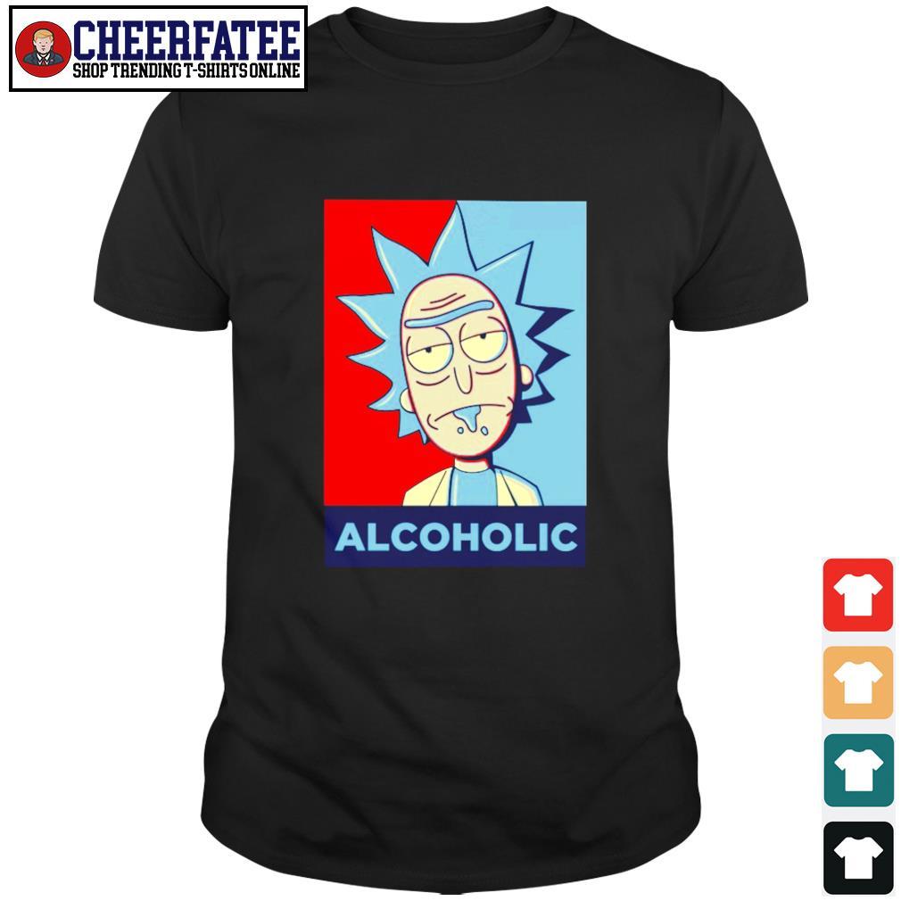 Rick sanchez alcoholic shirt