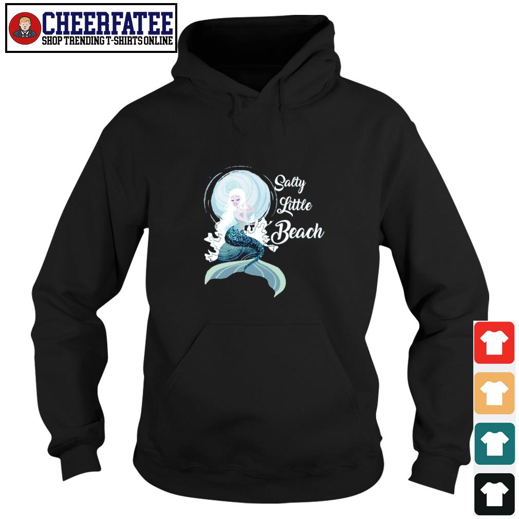 Salty little beach mermaid s hoodie
