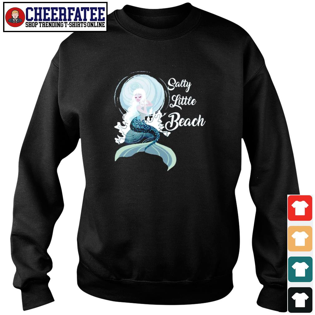 Salty little beach mermaid s sweater