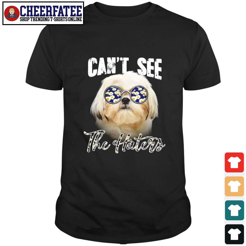 Shih Tzu can not see the haters