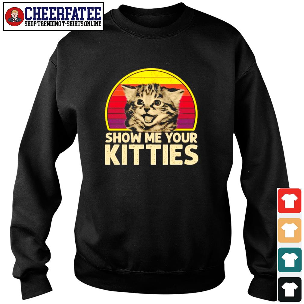 Show me your kitties vintage s sweater