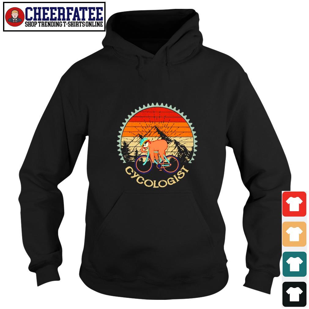 Sloth cycologist vintage s hoodie
