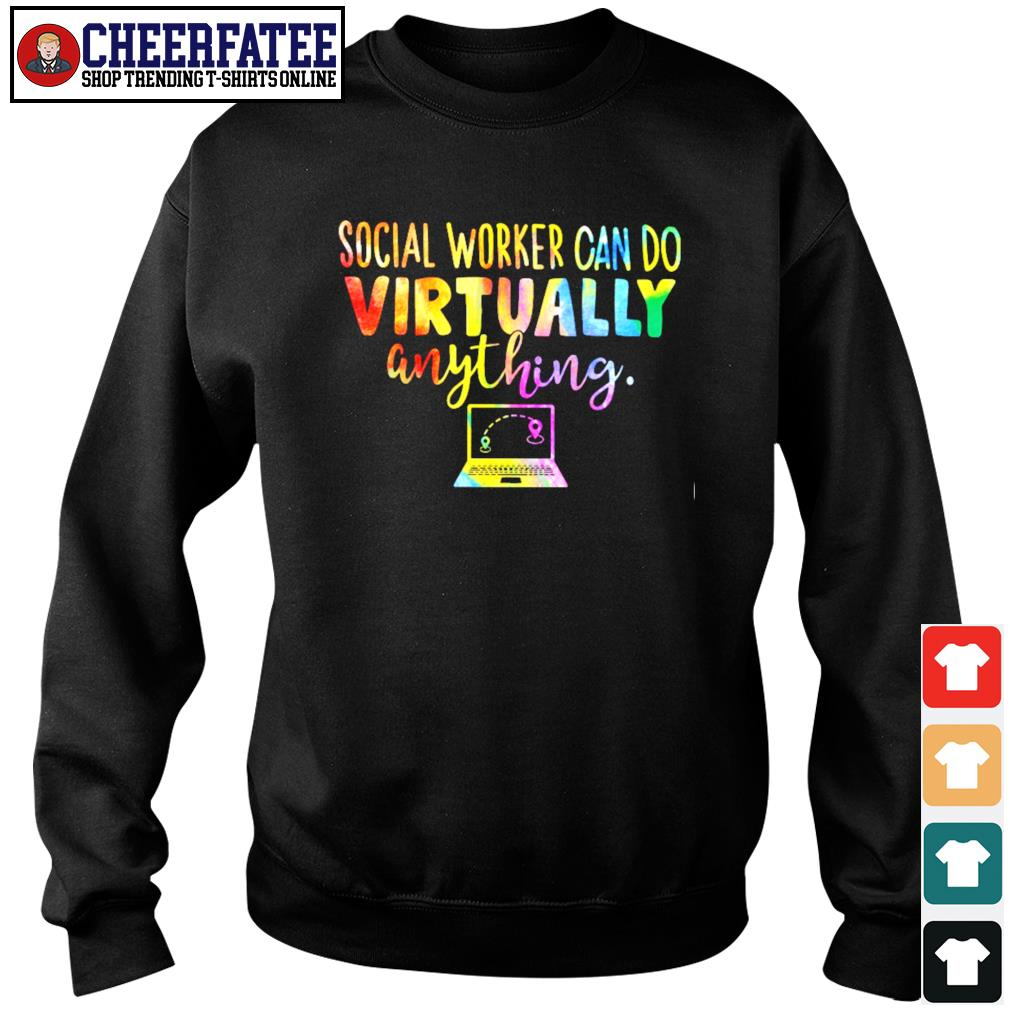 Social worker can do virtually anything s sweater