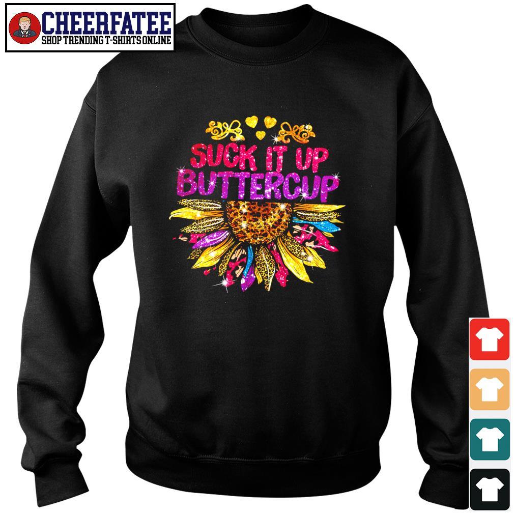 Suck it up buttercup sunflower s sweater