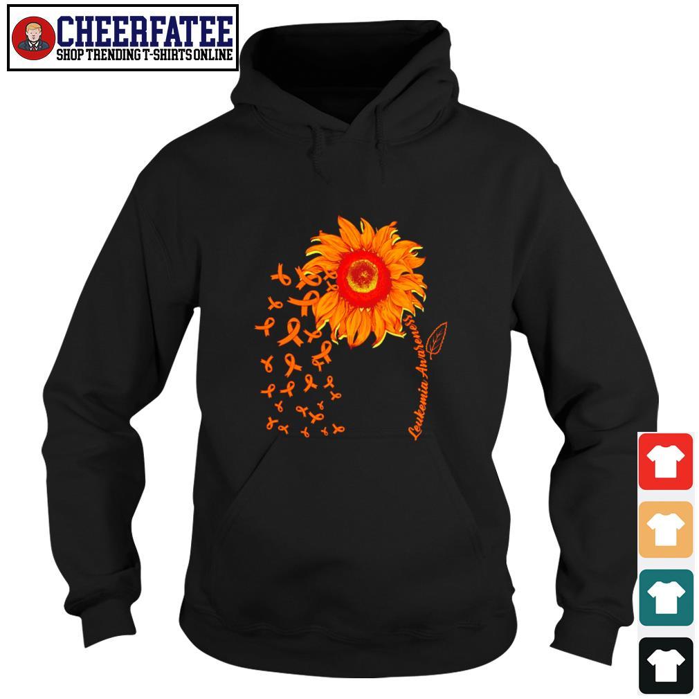 Sunflower leukemia awareness s hoodie
