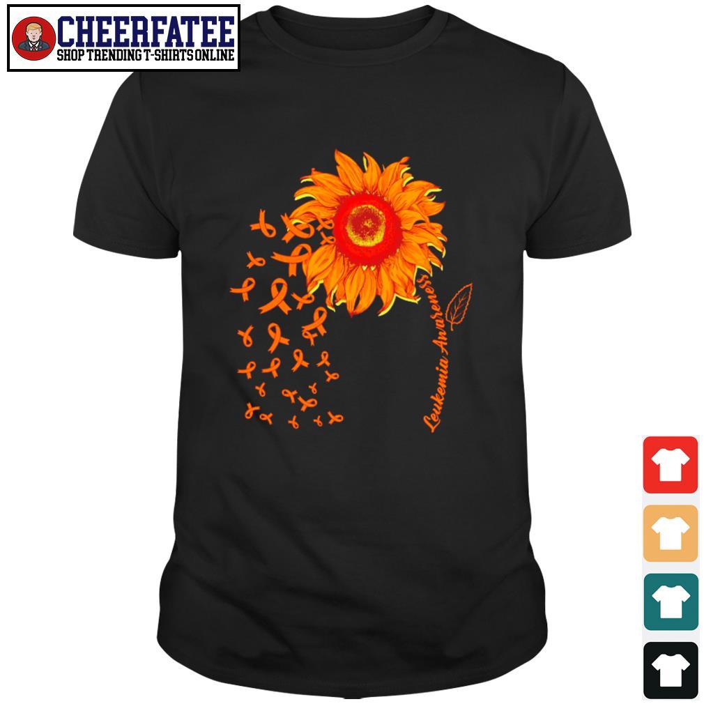 Sunflower leukemia awareness shirt