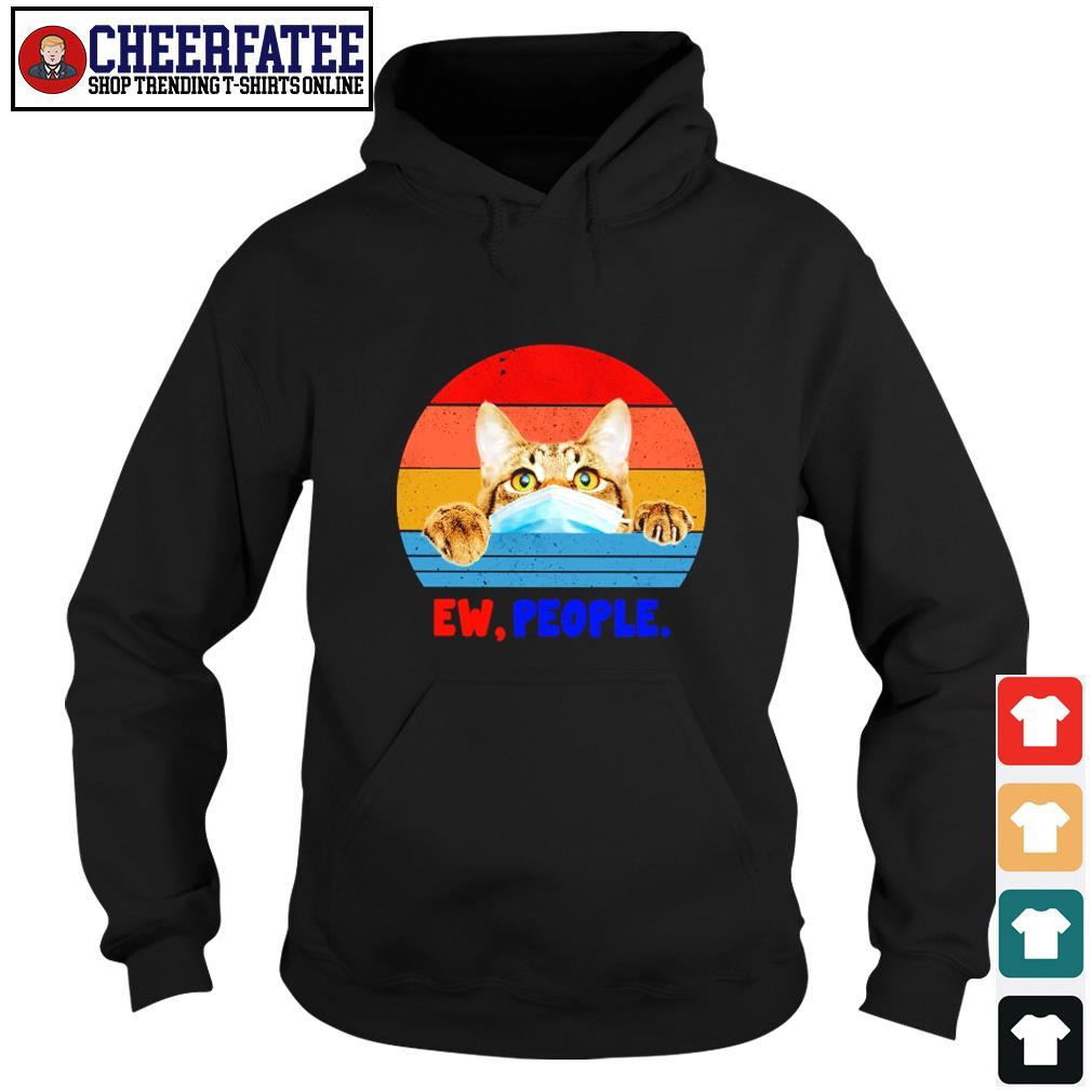 Tabby cat ew people vintage s hoodie