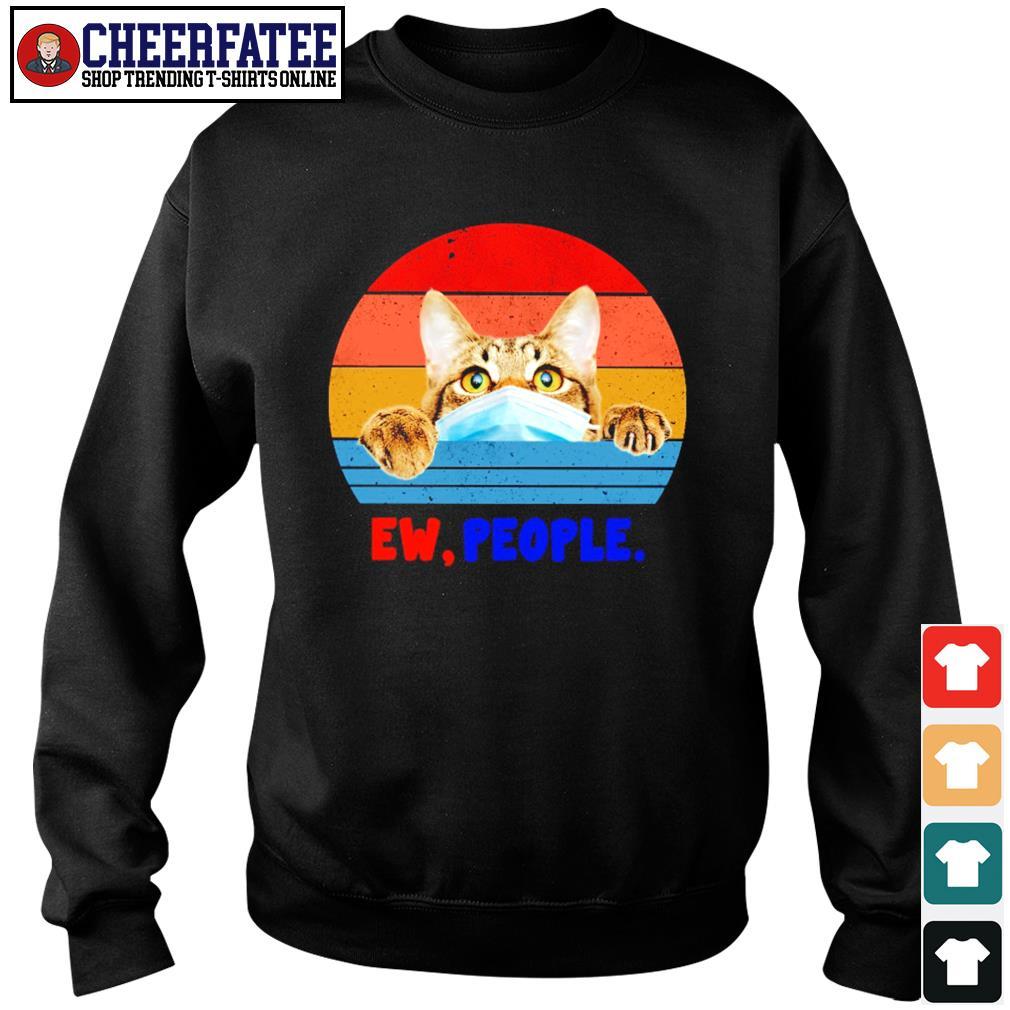 Tabby cat ew people vintage s sweater