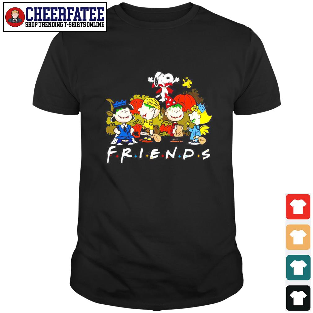 The peanuts friend halloween shirt