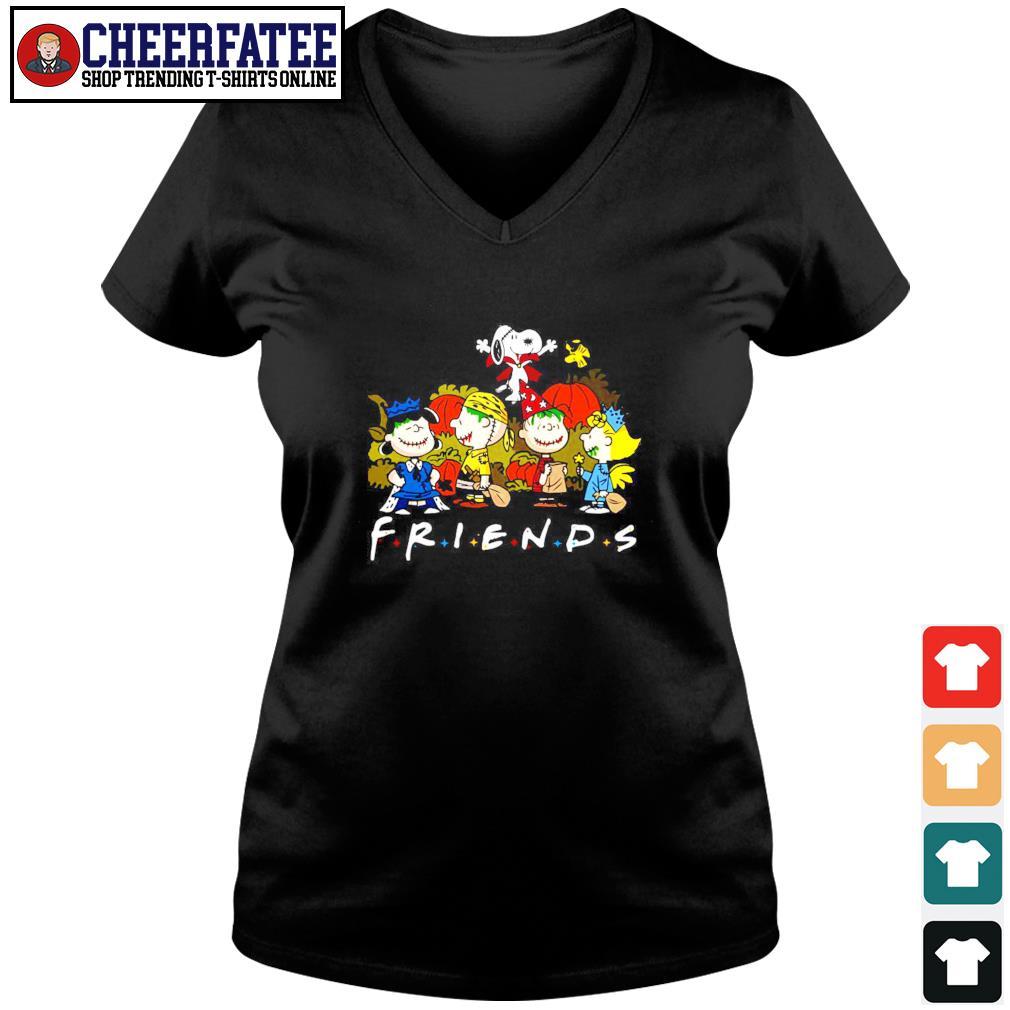 The peanuts friend halloween s v-neck t-shirt