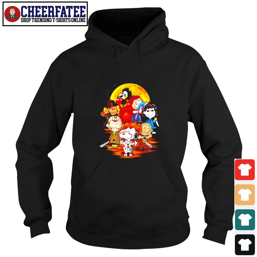 The peanuts movie horror character halloween s hoodie