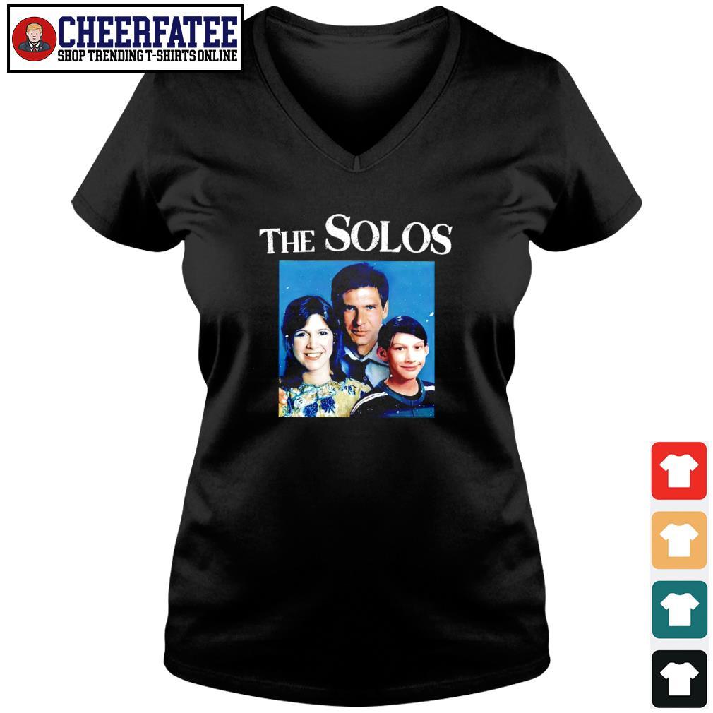 The solos family star war s v-neck t-shirt