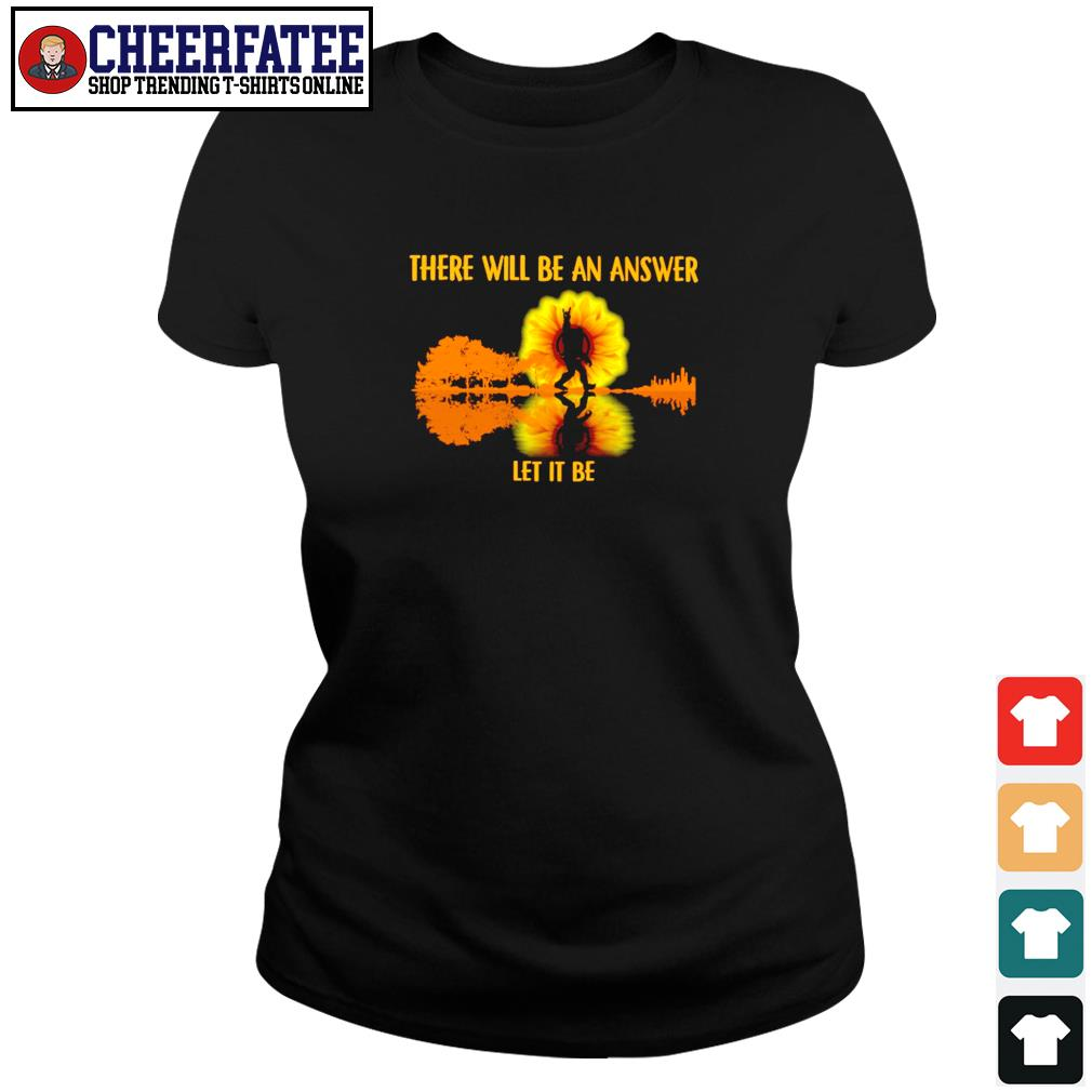 There will be an answer let it be bigfoot sunshine s ladies-tee