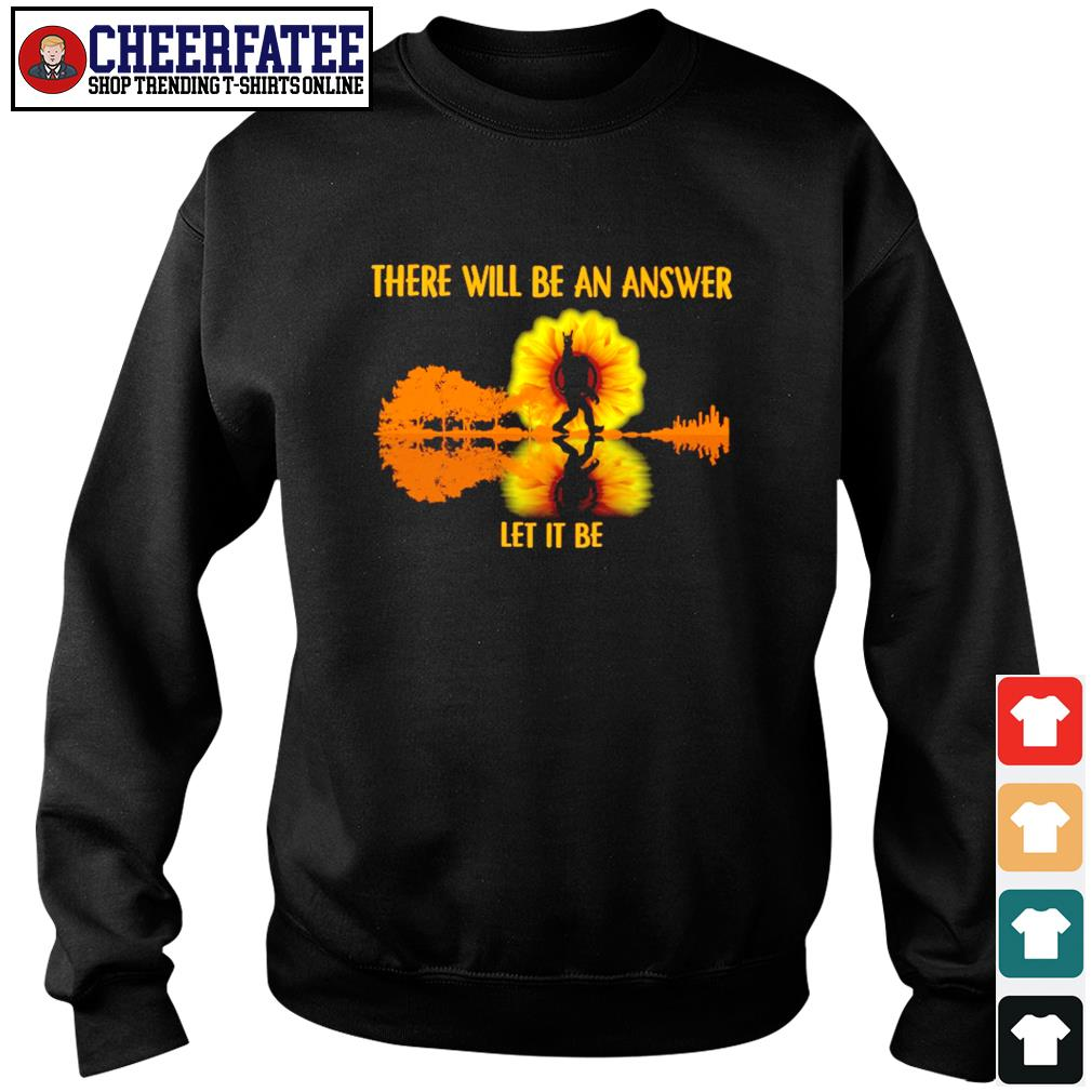 There will be an answer let it be bigfoot sunshine s sweater