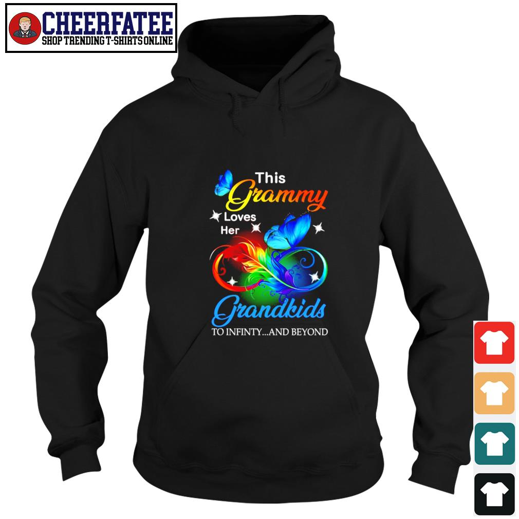 This granny loves her grandkids to infinity and beyond s hoodie