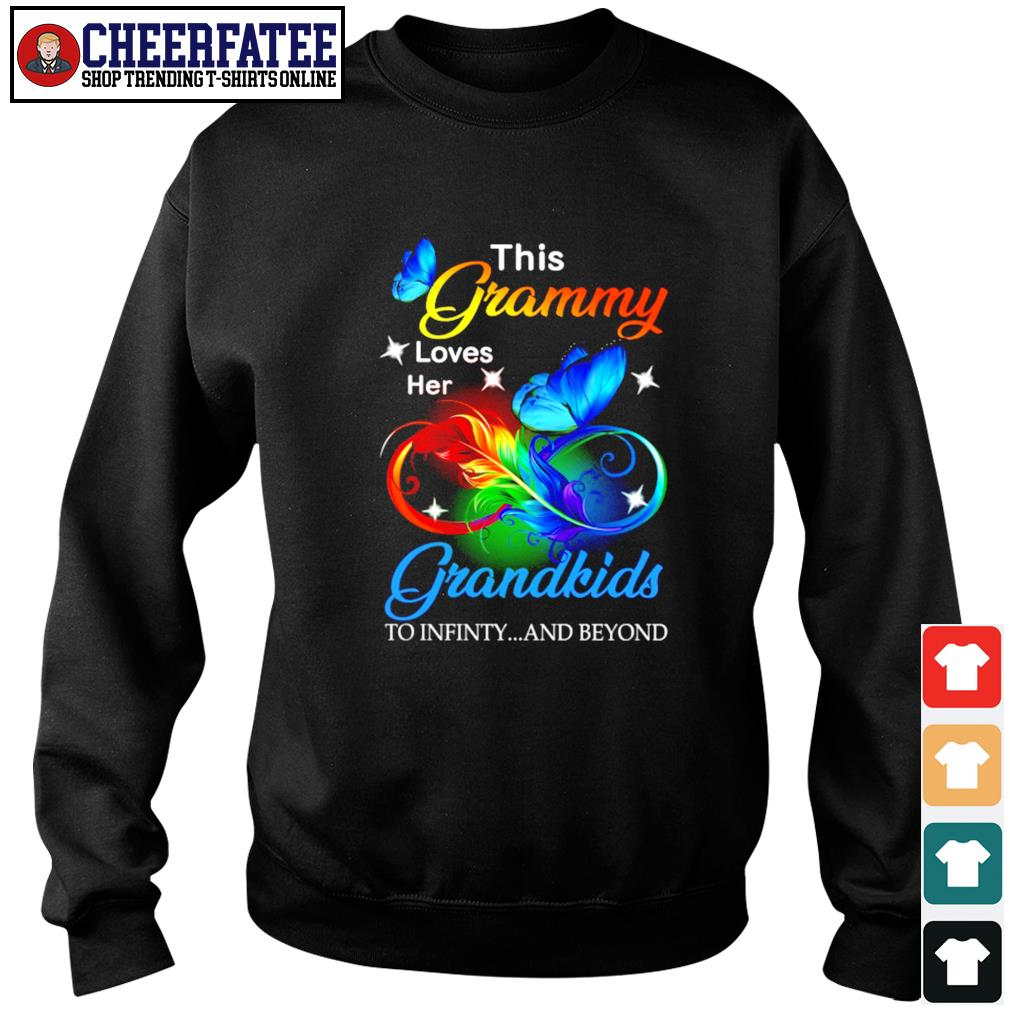 This granny loves her grandkids to infinity and beyond s sweater
