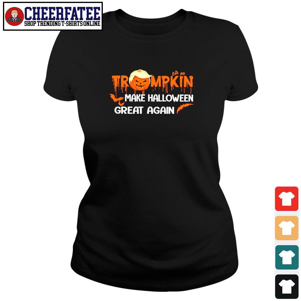 Trumpkin make halloween great again s ladies-tee