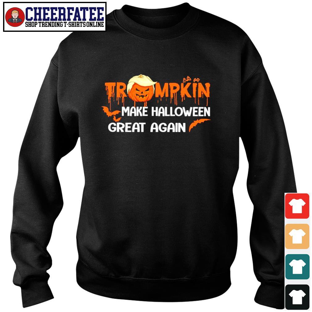 Trumpkin make halloween great again s sweater