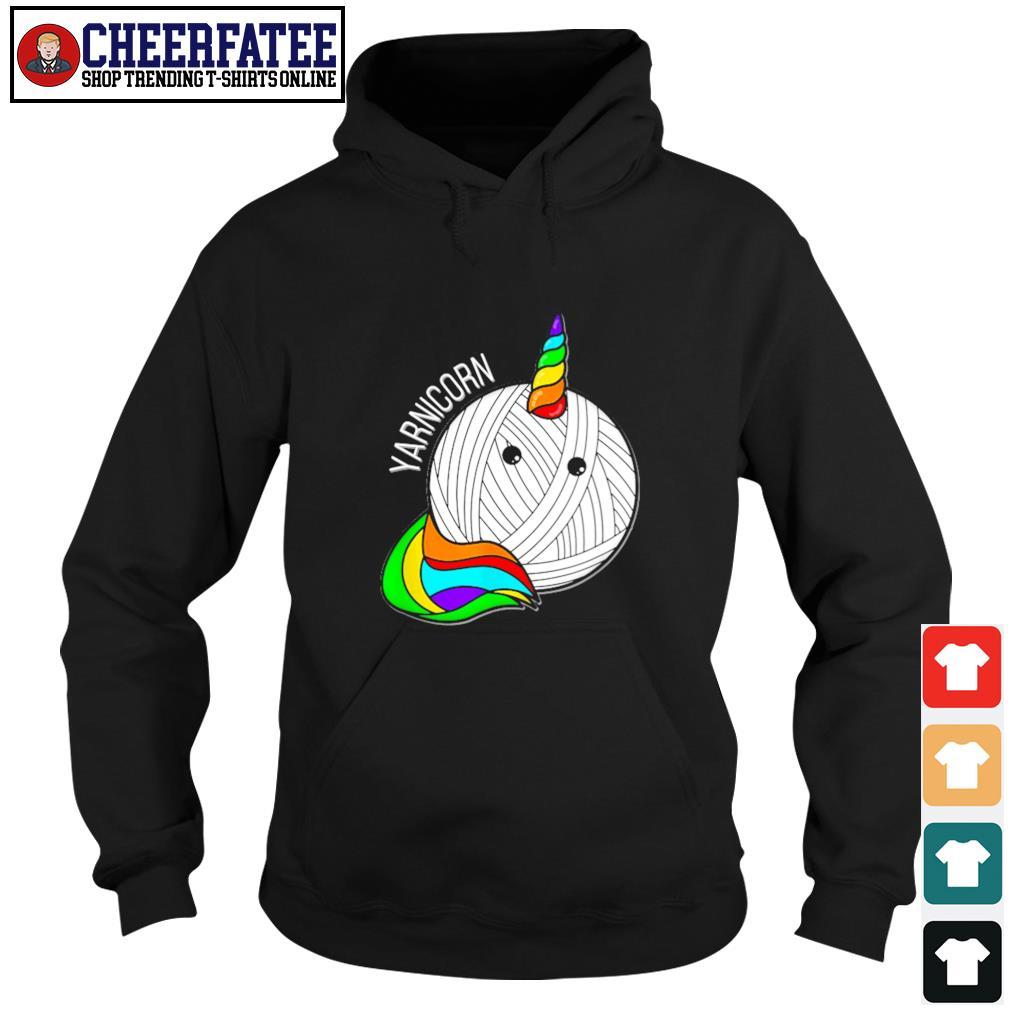 Unicorn yarnicorn pride s hoodie