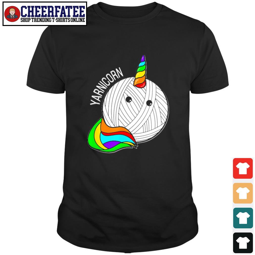 Unicorn yarnicorn pride shirt