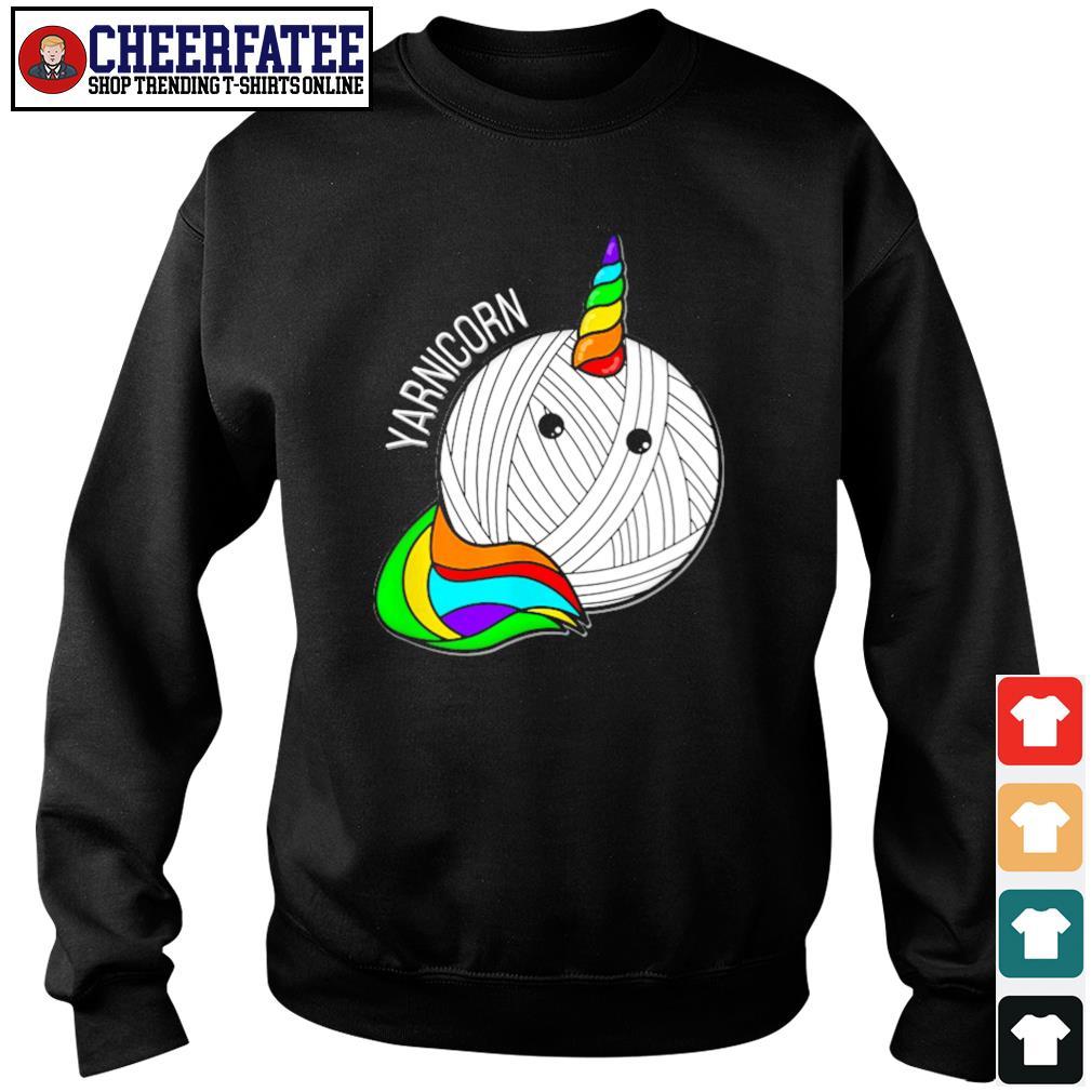 Unicorn yarnicorn pride s sweater