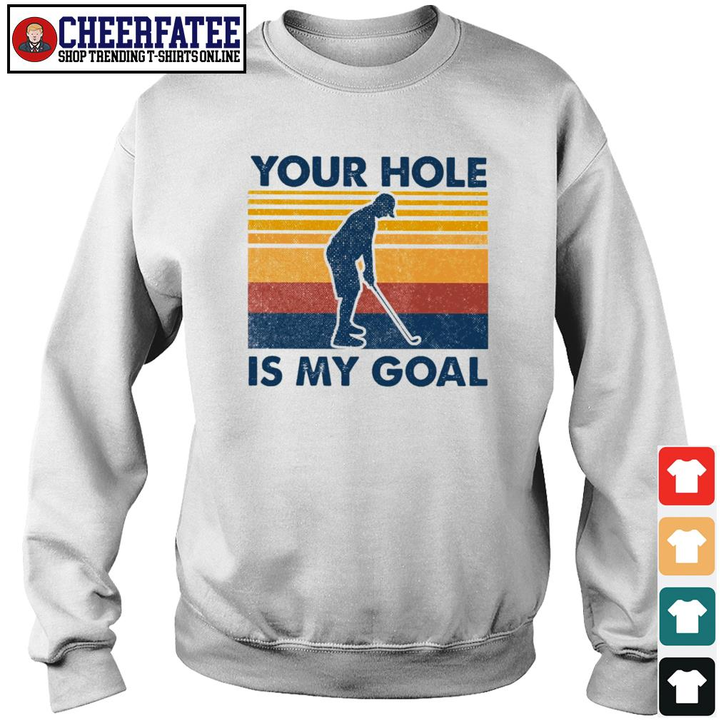 Your hold is my goal vintage s sweater