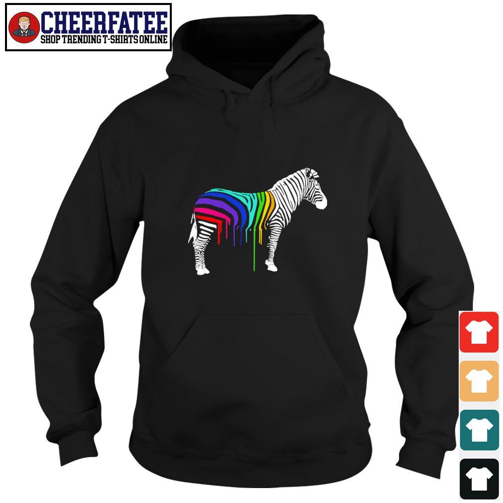 Zebra stripes LGBT s hoodie