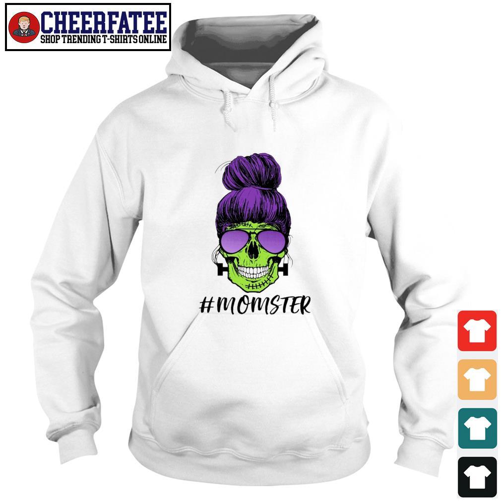 Zombie skull #momster s hoodie